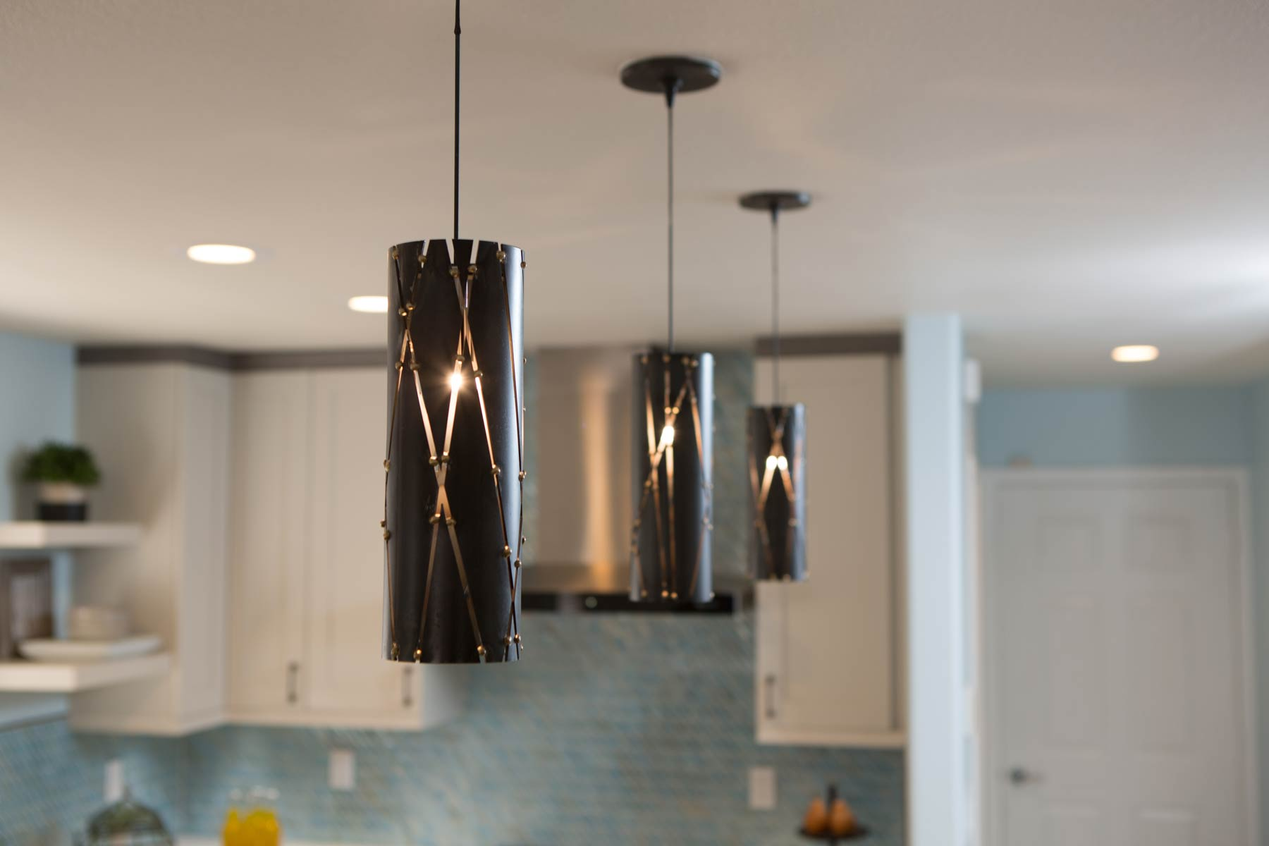 New kitchen light fixtures