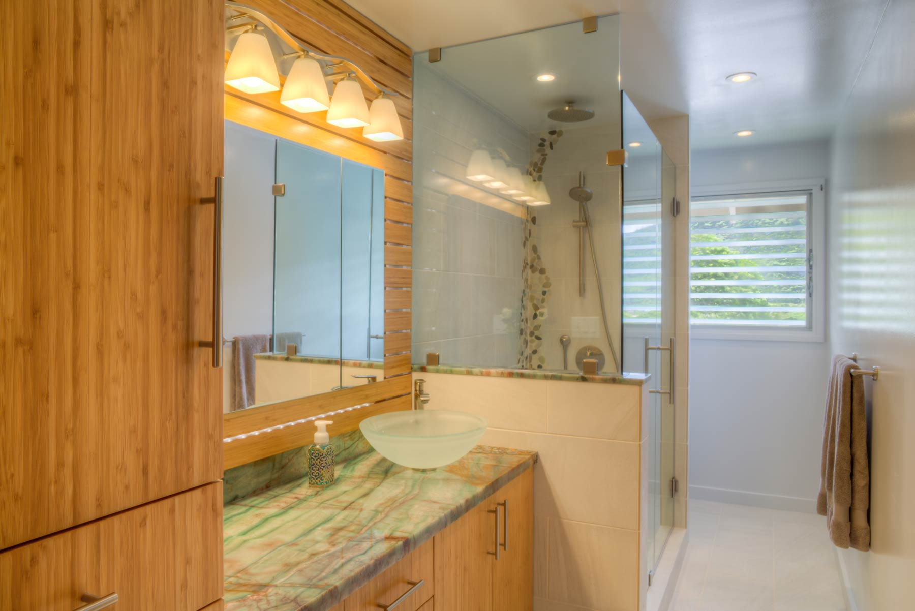 Manoa bathroom remodel by Accent Design