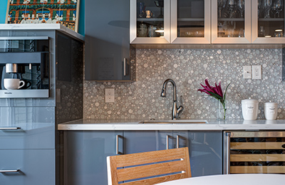 Kitchen Remodel Featured by Viatera Countertops